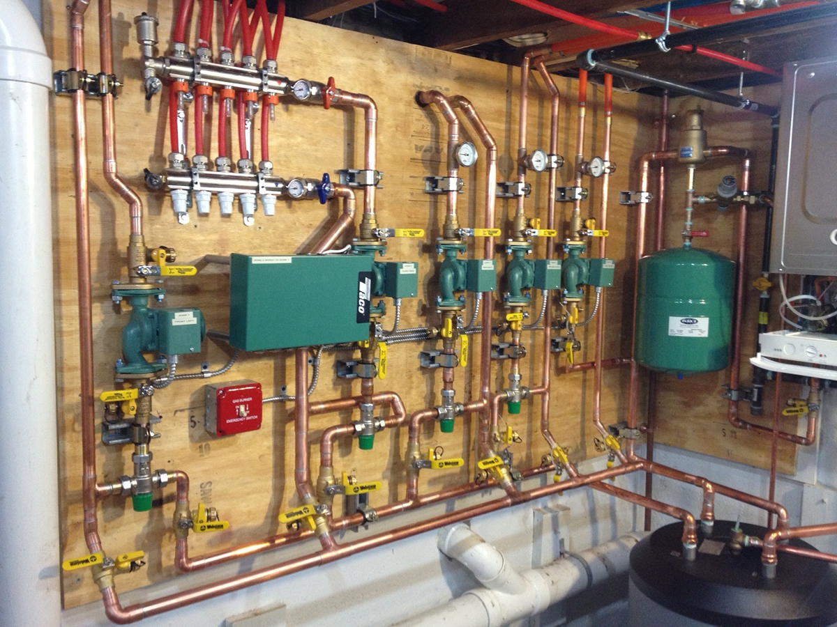 How To Use A Wood Boiler To Heat Multiple Buildings